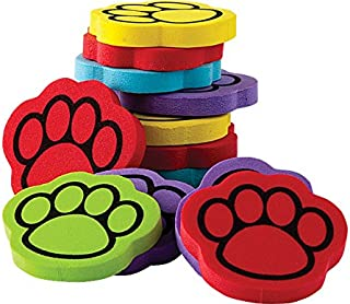Teacher Created Resources Foam Paw Print Counters (20643)