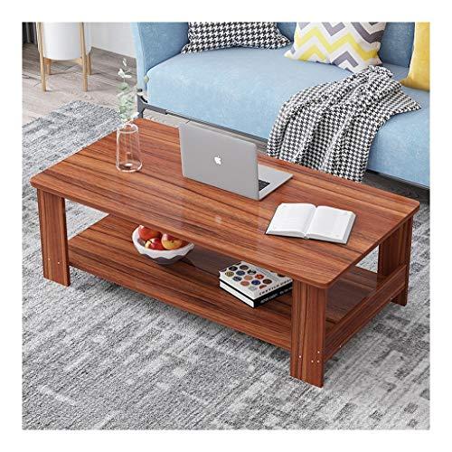 yaya salontafel nordic eenvoudige vierkante houten tafel salontafel met dubbele opslag marmer aanrecht woonkamer bank kleine eindtafel bijzettafels