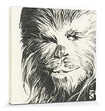 1art1 Star Wars - Chewbacca Portrait Zeichnung Poster