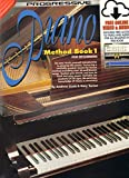72626 - Progressive Piano Method Book 1 - Book/Online Video & Audio