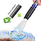 Universal Dusty Brush Vacuum Attachment, Duster Cleaning Tool Vacuum Duster Attachment with Universal Adapter Handy Flexible for Keyboards, Drawers, Cars, Corners, Vents, Furnitures