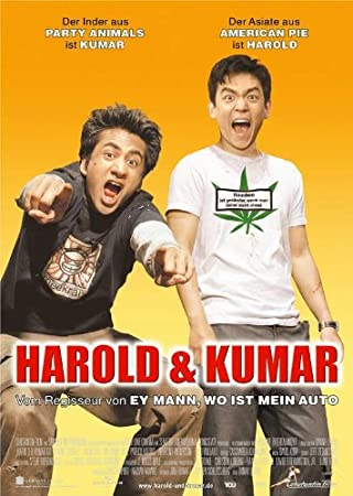 Harold And Kumar Go To White Castle Movie Poster 24x36 Inch Wall Art Frame Ready