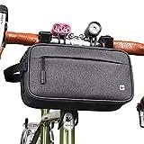 UBORSE Bolsa de Manillar de Bicicleta Bolsa de Cuadro de Bicicleta Multifuncional Bolsa de Tubo Superior Bolsa de Cintura Bolsa de Hombro para Bicicleta de Carretera de Montaña MTB