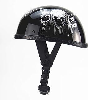 プロランキングオートバイハーフヘルメットオープンフェイスヘルメットハーフシー..購入