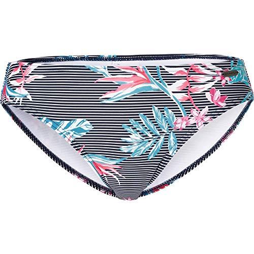 Firefly Damen Melly II Bikini-Hose, Flower/Stripes, 40