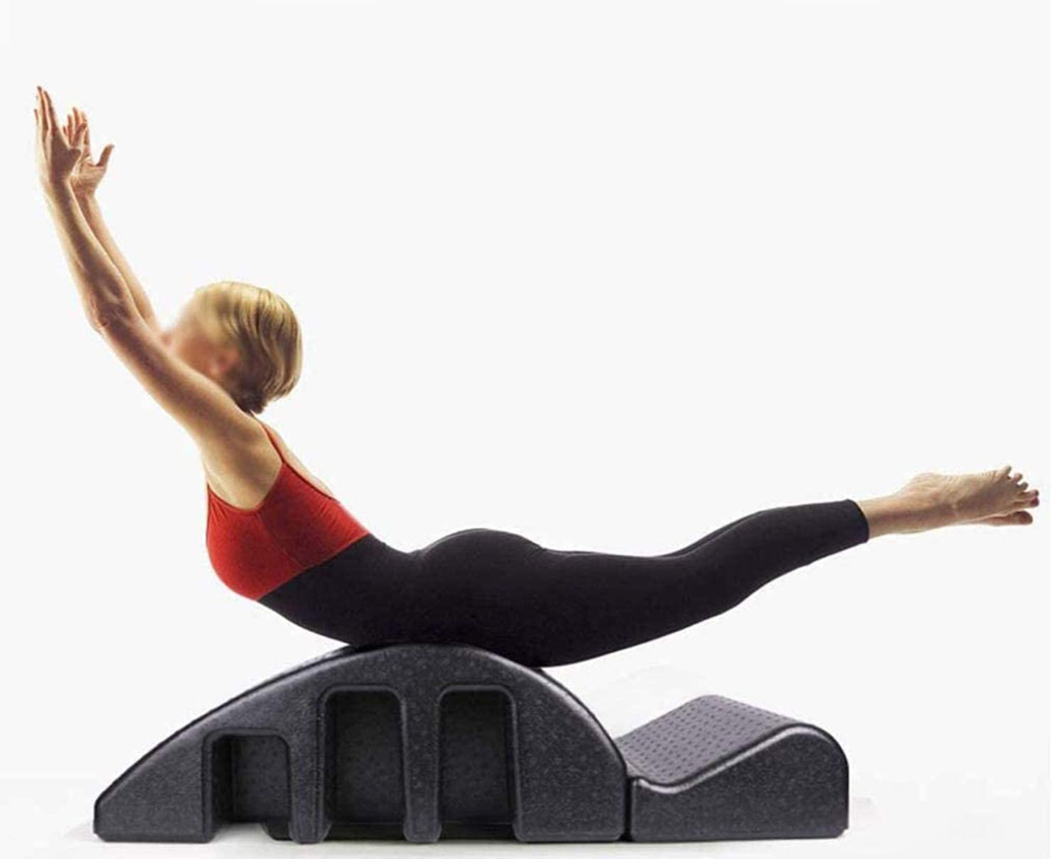 Barril Corrector De Columna De Espuma De Arco De Pilates, Camilla De Masaje Para Yoga, Máquina De Corrección De Cifosis, Reformador De Pilates, Ajuste Científico De La Curva De La Columna Vertebral