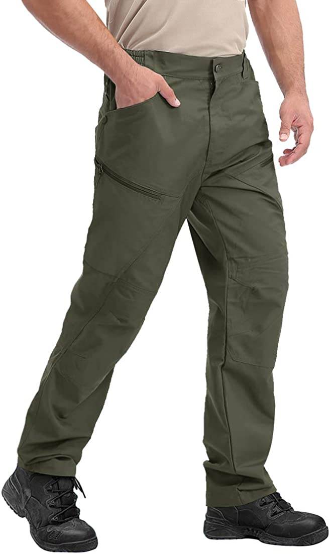 TACVASEN Men's Tactical Cargo Pants New arrival Outdoor Military Ripst Max 85% OFF Sport