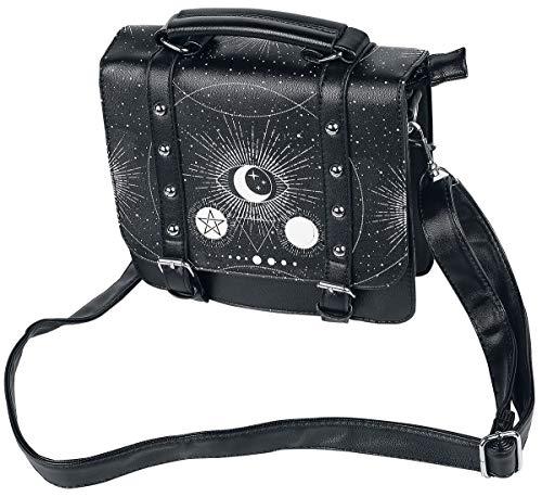 Banned Apparel Pentagrama OCULTISMO OJO POWER Gótico Cósmico Pequeño Bolso satchel