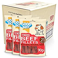 MADE with 100 Percent NATURAL BEEF: I'm made with 100 percent natural beef meat so am sure to get your dogs' tail wagging. Not only that, I'm roasted in my own juices creating the tasty duck flavour treat for rewarding your pooch at home or whilst ou...