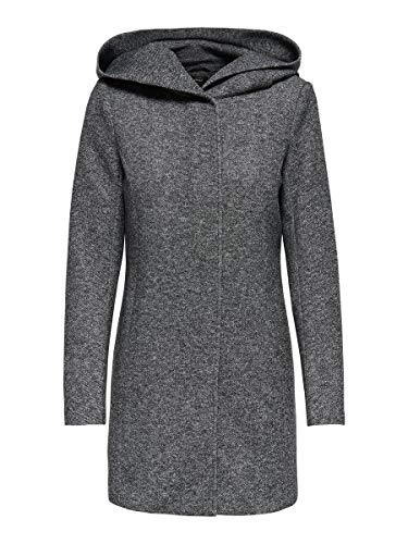 ONLY Female Mantel Klassischer XLDark Grey Melange