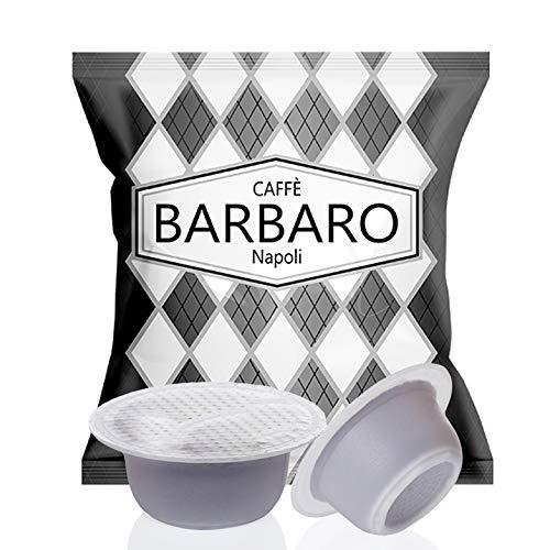 CAFFE' BARBARO Napoli Compatibili Bialetti, Miscela Nera, - 100 Capsule ---- ATTENZIONE NON COMPATIBILE CON LA NUOVE MACCHINE BIALETTI CON SENSORE DI RICONOSCIMENTO CAPSULE IN ALLUMINIO