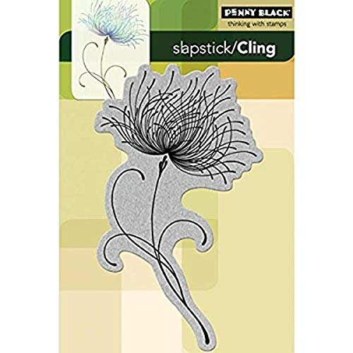 Penny Black 238445 Dreamy Cling Rubber Stamp, 4 by 6-Inch
