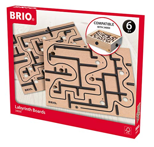 BRIO Spiele 34030 - Labyrinth Ersatzplatten, 2tlg.