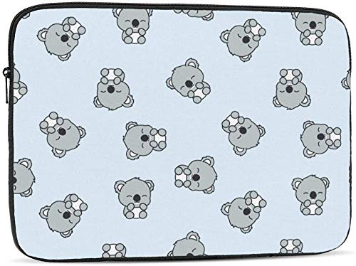 Colorful Glowing Radial Butterflies Laptop Sleeve Bag Compatible with 10-17 Inch Funny Computer Bag Laptop Case-Cute Baby Koala,15inch