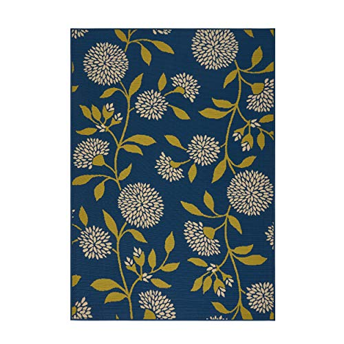 Christopher Knight Homechristopher Knight Home Max Indoor Floral 5 X 8 Area Rug Blue Green Dailymail