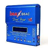 OUYBO IMAX B6 AC 80W B6AC Lipo NiMH 3S / 4S / enchufe cable de alimentación cargador del balance de la batería del rc 5S + EU AU de los EEUU Reino Unido Accesorios de batería de piezas RC