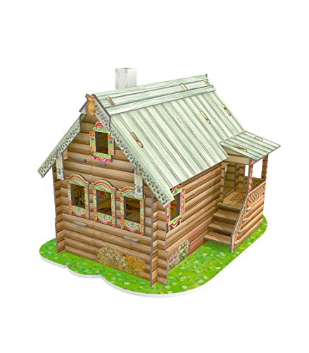 CLEVER PAPER Puzzles 3D Mi Primera casa de muñecas I 142061