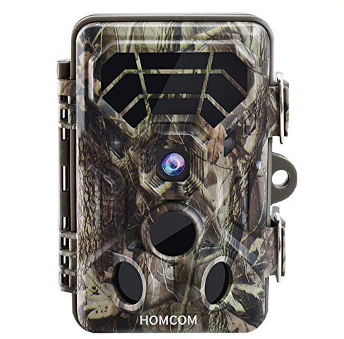 Tovendor Trail Camera Motion Activated Night Vision Up to 65ft, 16MP Low Glow Wildlife Cams with 0.2s Trigger Time for Animal Monitor, IP66 Waterproof