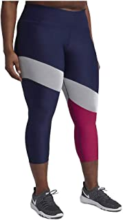 low priced 4dc37 f72fd Nike Power Women s Dri-Fit Compression Tights Blue White Pink Plus Sizes  AH9102 429
