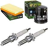 pamoto - Filtro dell'aria, filtro dell'olio, candela di accensione V11 1100 i.e Le Mans Rosso Corsa 2003-2005 Servicekit