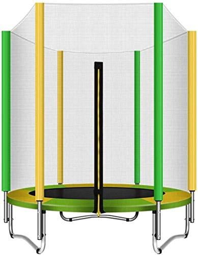 BRFDC Trampolin Fitness con recinto de la Seguridad Interior o Exterior del trampolín Plegable for niños