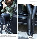 IHRKleid Damen Leggings Schwarz Baumwolle Legging M/L/XL/XXL (EU36(Asia M), Schwarz) - 7