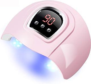 Lámpara de uñas de 54 W, LED de gran espacio, doble fuente de luz ultravioleta, máquina de terapia de luz ultravioleta inteligente, secador de uñas USB de inducción automática.