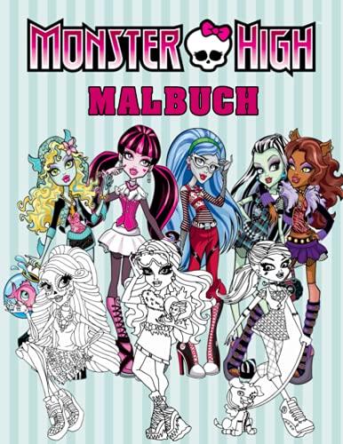 Monster High Malbuch: Ein ausgezeichnetes Malbuch für Entspannung und Kreativität