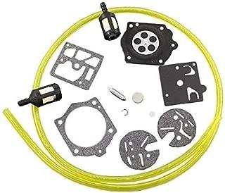 HQparts Carburetor Carb Repair Rebuild Kit for Echo CS-650EVL CS-500EVL CS-500VL Saw Carb HDB