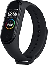PADY Xiaomi Mi Band 4 Fitness Tracker 0.95 AMOLED OLED Display Heart Rate Monitor 50m Waterproof Bracelet Activity Tracker Weather Forecast Smart Reminder for iPhone Android Phone