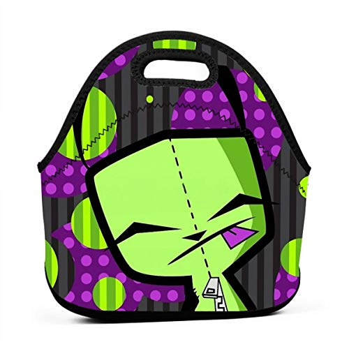 QEHAO Happy Gir From Invader Zim Fanart Lunch Bag Reusable Insulated Tote Container Lunch Box For Women Kids Students