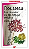 Les rêveries du promeneur solitaire - Format Kindle - 2,49 €