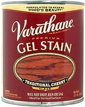 Varathane 224458H Premium Gel Stain, Quart, Traditional Cherry