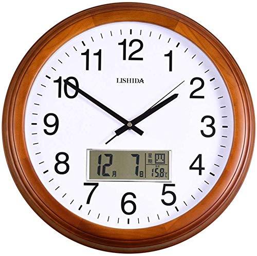 QYYzdy Reloj de pared con calendario perpetuo, excelente mov