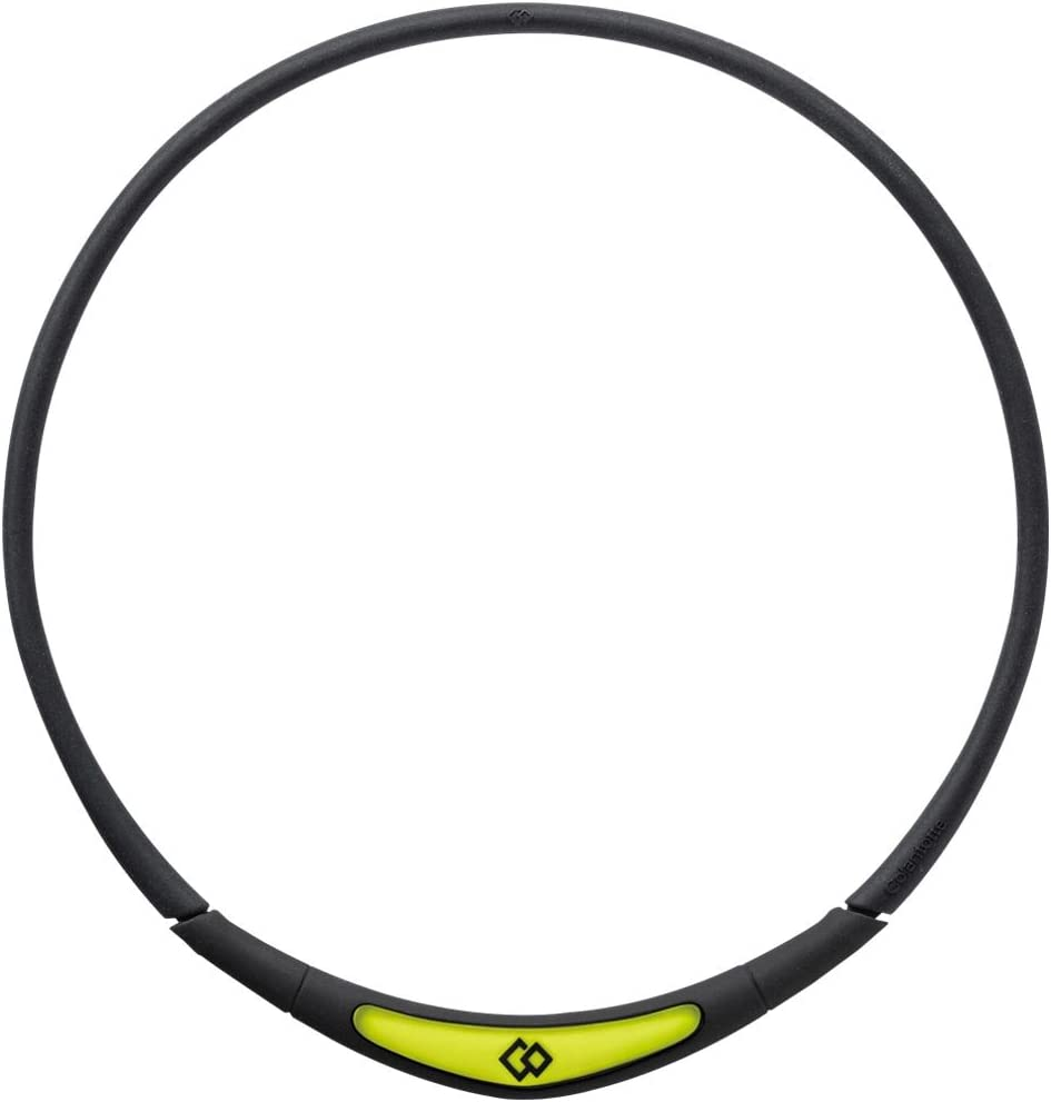Colantotte Flex Neck Black S Yellow-green Very popular! New mail order 42cm