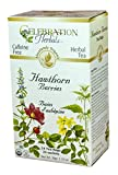 Celebration Herbals Organic Hawthorne Berries Tea Caffeine Free - 2 Pack (48 Teabags in Total)