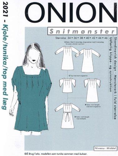 Dänisches Schnittmuster Onion 2021 Kleid Gr. 34-46