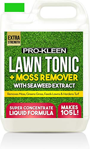 Pro-Kleen Lawn Tonic Liquid Iron Sulphate Quality Ferrous Conditioner,...