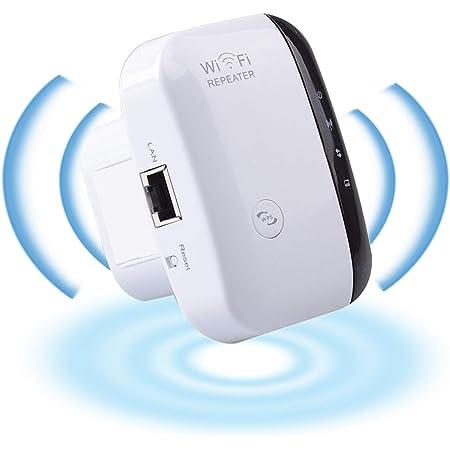 YiYunTE Repetidor WiFi Extensor de Red 300Mbps Amplificador Señal WiFi 2.4GHz Extensor WiFi Amplificador Modo Ap Función WPS WiFi Repetidor ...