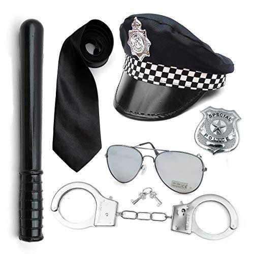 Paper Umbrella Zestaw akcesoriów do kostiumu policyjnego