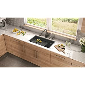 "Franke Peak 32"" x 18 3/4"" x 9"" Undermount Single-Bowl Kitchen Sink"