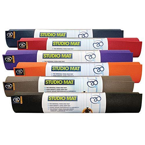 Colchoneta de Yoga de Estudio Azul - 4.5mm - Gris - Yoga Mad