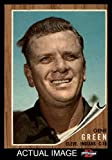 1962 Topps # 78 Gene Green Cleveland Indians (Baseball Card) Dean's Cards 5 - EX Indians