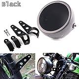 HOZAN Black 5.75inch Motorcycle LED Headlight Housing 5-3/4...