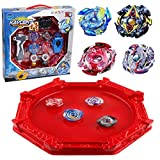 Ter Revin Bey Burst Turbo Evolution Star Storm Large Stadium Set with 4D Launcher and Grip Set Toys for Prime Metal Fusion