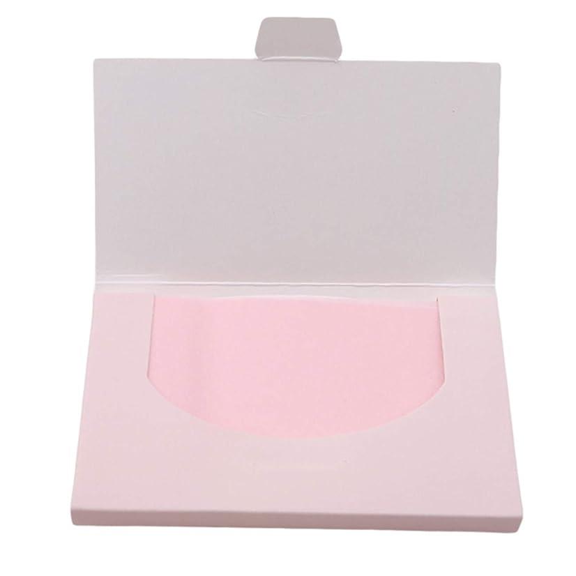 動機統治する宇宙のZALING 100ピース天然オイルあぶらとり紙化粧あぶら取り紙クリアオイル吸収シートオイルスキンケア用, ピンク