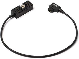 ZITAY D-Tap Splitter Mannelijk naar 4 Poort Dtap Vrouwelijke Splitter Voedingskabel D-Tap Hub Adapter Kabel Fotografie VMo...