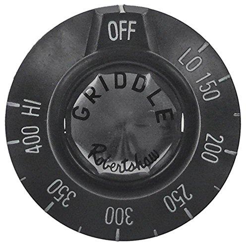 Knebel für Imperial-USA IR2000-Series, IMPERIAL USA IR2000-Series für Gasherd, Grillplatte für Gasthermostat ø 49mm schwarz