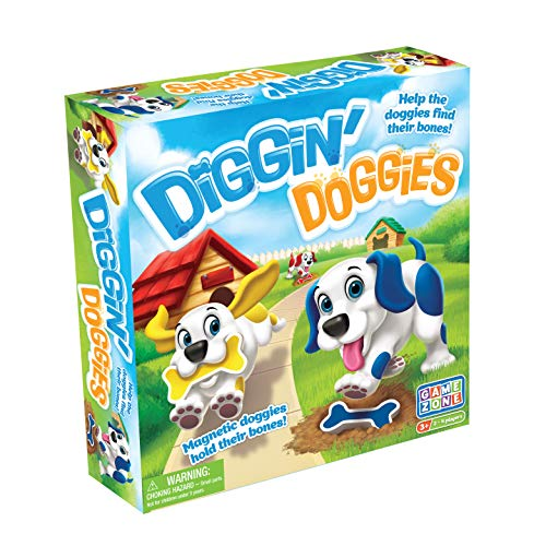 Game Zone Diggin' Doggies Board Game