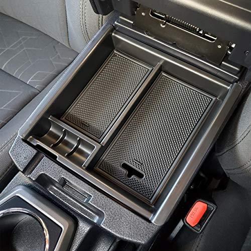 2018-19 Black LIBERRWAY Center Console Organizer for Jeep Wrangler JL//JLU 2020 Insert Divider Board Armrest Box Organizer Jeep Gladiator JT Truck